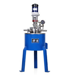 Stainless Steel High Pressure Reactor Autoclave Vessel 22mpa 350°c Heating Temp