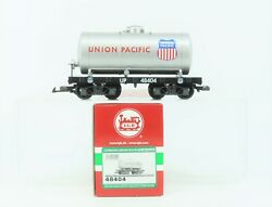 G Scale Lgb 48404 Up Union Pacific Single Dome Tank Car 48404