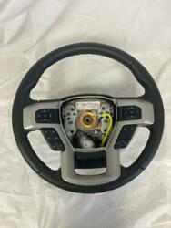 Oem 2017-2020 Ford F-250 F250 Black Steering Wheel With Controls And Sensor Oe