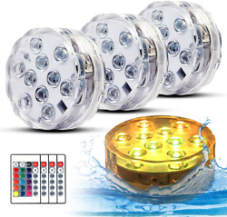 Swimming Pool Lights For Bathtub Fountain Hot Tub Waterproof Pond Light With Rem