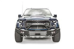 Fab Fours Ff17-h4352-1 Premium Winch Front Bumper Fits 2017 Ford F-150