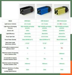 Laser Module Laser Head Used For Engraving / Cutting Machine Laser 450nm 40w