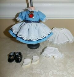 Cute Madame Alexander Outfit For 8 Inch Doll Goldilocks