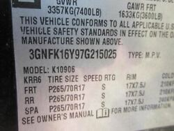 Automatic Transmission 6.0l 4wd Fits 07 Avalanche 1500 246211