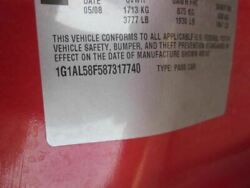 Automatic Transmission 2.2l From 1/07/08 Fits 08 Cobalt 46381