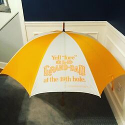 Old Grand Dad Whiskey Umbrella Excellent Condition