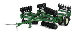 Model Tractor Crew Agricultural Speccast Harrow In Discs Oliver 263 Disc 1