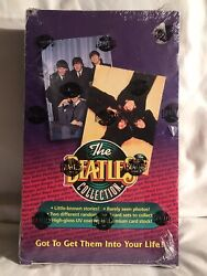 The Beatles Collection Sealed Box Of Packs Trading Cards