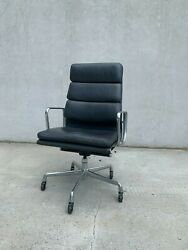 Herman Miller Soft Pad Executive Chair Mcl Leather