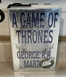 Signed True First Edition/1st Print Hc A Game Of Thrones By George R.r.martin