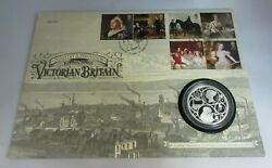 No 001 Industry And Innovation In Victorian Britain Silver Proof £5 Coin Cover Pnc