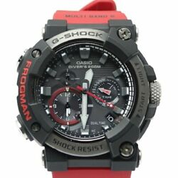 Casio G-shock Frogman Tough Solar Gwf-a1000 Red Except In Some Areas No
