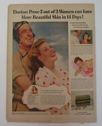 Vintage Ads Life Saver Balloon Man 1943 Del Monte Foods Palmolive Soap  3 In 1