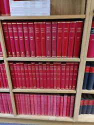 Criminal Appeal Reports Red Books Complete Set From 1971 To 2014 Hardcover...