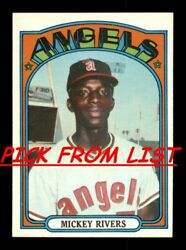 1972 Topps 248 525 EX EX MT Pick From List All PICTURED $0.99
