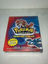 2003 Topps Pokemon Advanced Ruby And Sapphire Cards - Factory Sealed Box