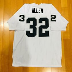 Authentic Mitchell And Ness Marcus Allen Los Angeles Raiders Jersey Nwt Size 54