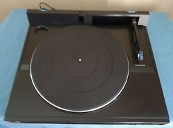 Kenwood Kd-65f Direct Drive Turntable, Linear Tracking System, See Video
