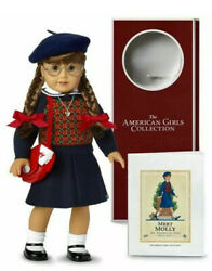 American Girl Doll Molly Mcintire 35th Anniversary Collection And Accessories New