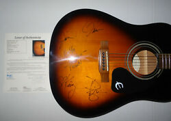 Signed Little Big Town Autographed Guitar Certified Authentic Jsa Loa Bb10904