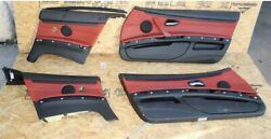 Front And Rear All 4 Interior Door Panels Inner Cover Oem Bmw E90 2009-2011