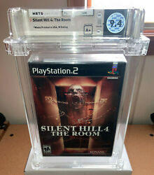Brand New Ps2 - Silent Hill 4 - Wata 9.4 A+ Sealed - See Photos Playstation 2