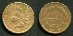 Rare 1859 Indian Head Small Cent Xf