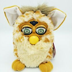 Vintage 1998 Furby Brown And Cream With Green Eyes 70-800 Not Working For Parts