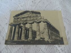 POSTCARD VINTAGE NAPOLI ITALY TEMPO DI CERERE APPEARS EARLY R P U D BACK