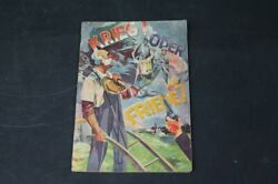 Old Print War Or Peace From J.f.rutherford From 1930 Vintage Collector