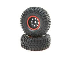 Losi 45031 Black Mounted Maxxis Creepy Crawler Lt For Super Rock Rey Pack Of 2