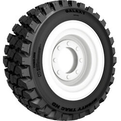 4 Tires Galaxy Mighty Track Nd 12.5/80-18 Load 12 Ply Industrial