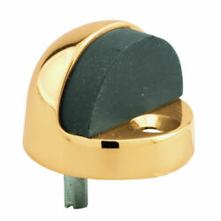 Primeline Products 1/2 In. Dome Floor Stop In Polished Brass, Pack Of 10
