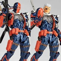 Amazing Yamaguchi Revoltech No.011 Deathstroke Pvc Action Figure New In Box Gift