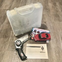 Super Street Xmods 1989 Infinity G35 Red Rc Remote Control Car W/case Part Works