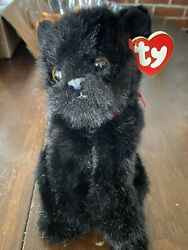 Coal The Black Cat Ty Plush Retired Collectible Brand. Halloween