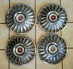 1967 Original Ford Mustang Hubcaps Used Set Of 4