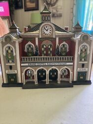 """Department 56 Christmas In The City Series """"grand Central Railway Station"""""""