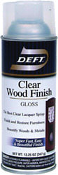 Deft Gloss Clear Oil-based Wood Finish Lacquer Spray 11.5 Oz
