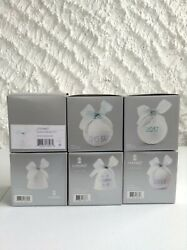 6 Lladro Christmas Bell Ornaments 2012 2013 2014 2015 2016 2017 Mint In Box