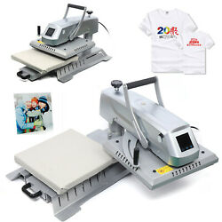 3 In 1 Heat Press Combo Machine 15x15 Transfer Sublimation Kit For T-shirts