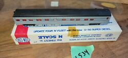 Nyc Observation Passenger Car, Con-cor, N Scale