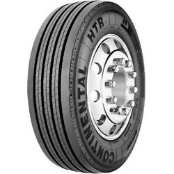 4 Tires Continental Htr1 285/70r19.5 Load J 18 Ply Trailer Commercial