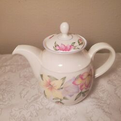 Royal Doulton Expressions - Blooms Pattern - Teapot - Excellent Condition