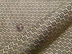 6yd Clarence House Sanders Grass Small Scale Geo Weave Fabric Italy 1800 Retail