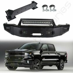 For 2017 Chevy Silverado 2500 Pickup Step Front Bumper Standard Protector