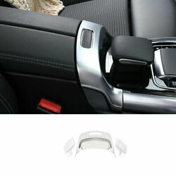 For Benz Glb W247 2020-2022 Abs Silver Console Armrest Box Switch Cover Trim 3x