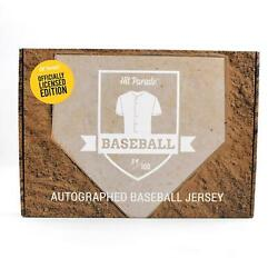 2021 Hit Parade Autoand039d Official Licensed Baseball Jersey - Series 8 - 10 Box Cas