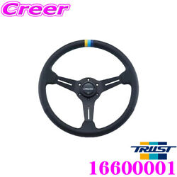 Trust Greddy Leather Sport Steering Wheel 16600001 Color Stitching Tracking New