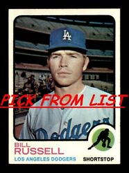 1973 Topps 2 267 EX EX MT Pick From List All PICTURED